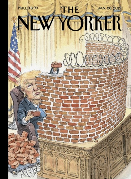 The New Yorker Cover - 1/28/2019