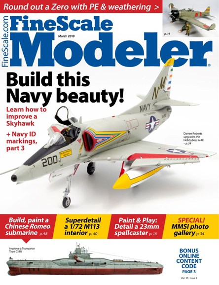 Finescale Modeler Cover - 3/1/2019