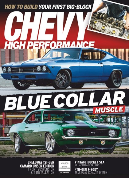 Chevy High Performance Cover - 4/1/2019