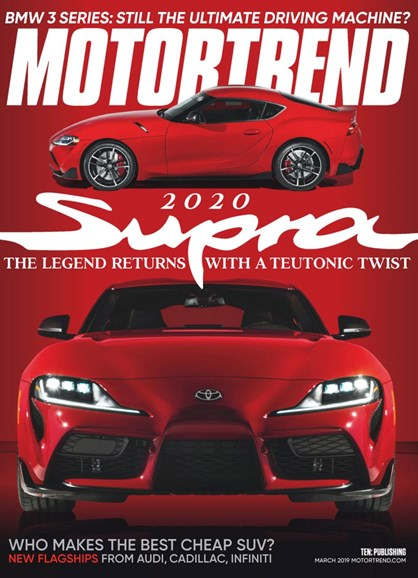 Motor Trend Cover - 3/1/2019