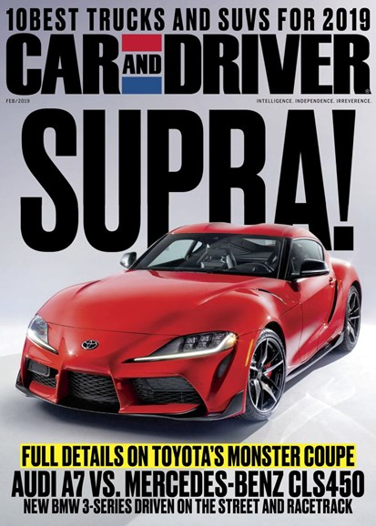 Car And Driver Cover - 2/1/2019