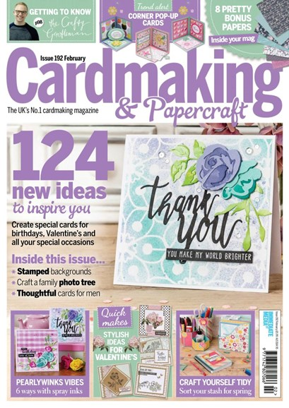 CardMaking & PaperCrafts Cover - 2/1/2019