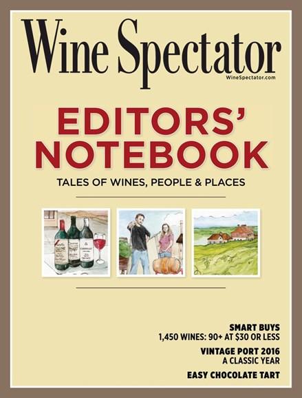 Wine Spectator Cover - 2/28/2019