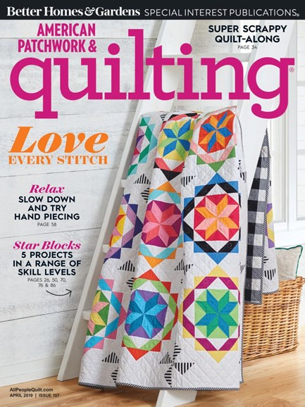 American Patchwork & Quilting Cover - 4/1/2019