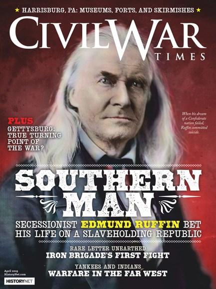 Civil War Times Cover - 4/1/2019