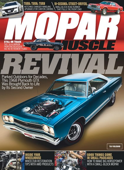 Mopar Muscle Cover - 4/1/2019