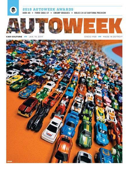 Autoweek Cover - 1/14/2019