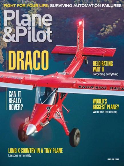 Plane & Pilot Cover - 3/1/2019