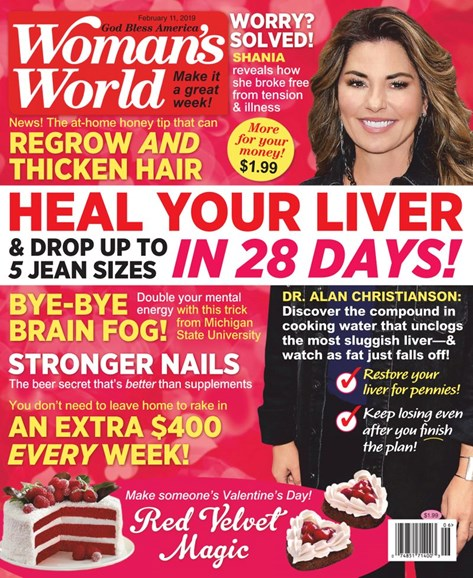 Woman's World Cover - 2/11/2019