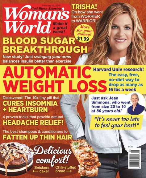 Woman's World Cover - 2/25/2019