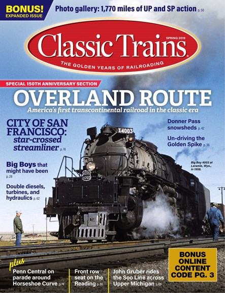 Classic Trains Cover - 3/1/2019