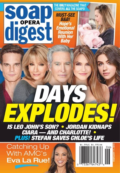 Soap Opera Digest Cover - 2/11/2019