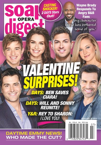 Soap Opera Digest Cover - 2/18/2019