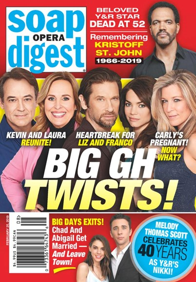 Soap Opera Digest Cover - 2/25/2019