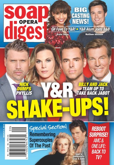 Soap Opera Digest Cover - 3/4/2019