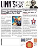 Linn's Stamp News Magazine 3/11/2019