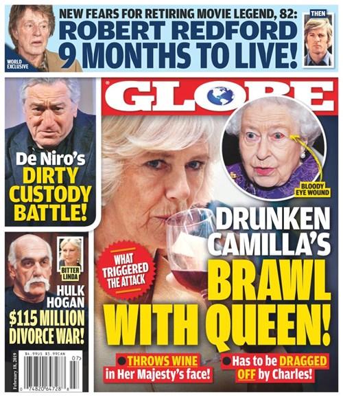 Globe Cover - 2/18/2019