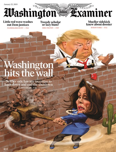 Washington Examiner Cover - 1/22/2019