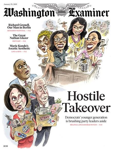 Washington Examiner Cover - 1/29/2019