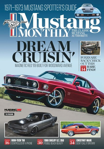 Mustang Monthly Cover - 3/1/2019