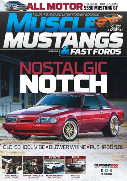 Muscle Mustangs & Fast Fords Cover - 4/1/2019