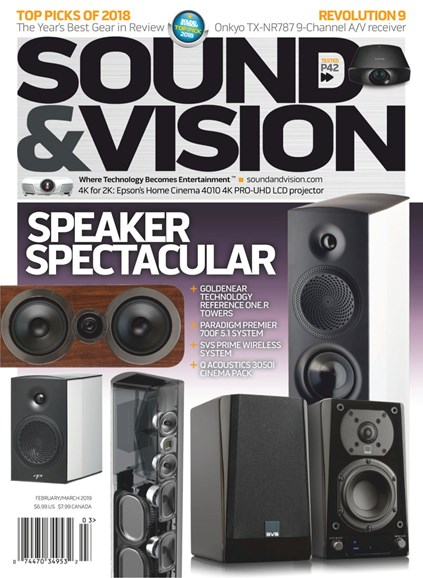 Sound & Vision Cover - 2/1/2019