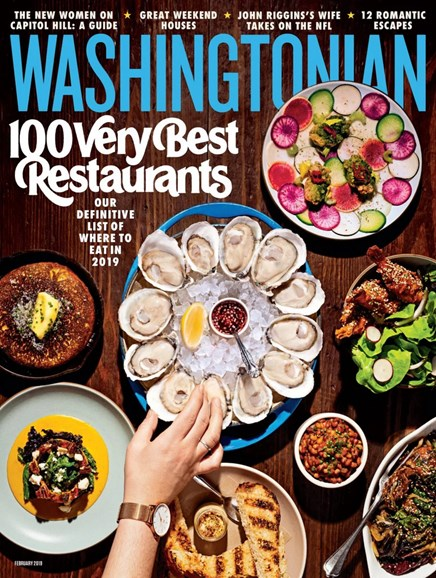Washingtonian Cover - 2/1/2019