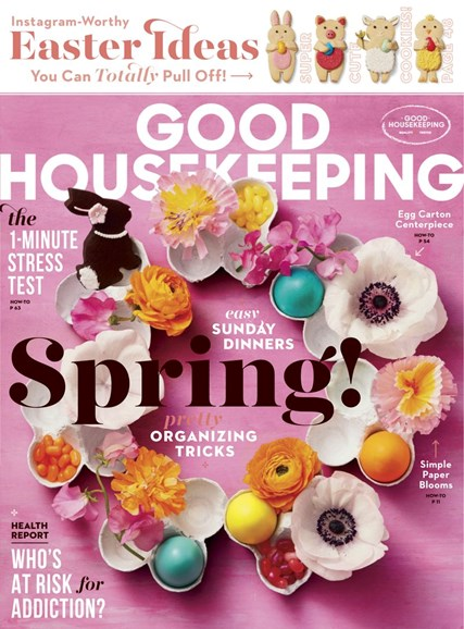 Good Housekeeping Cover - 4/1/2019