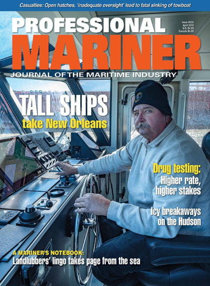 Professional Mariner Cover - 4/1/2019