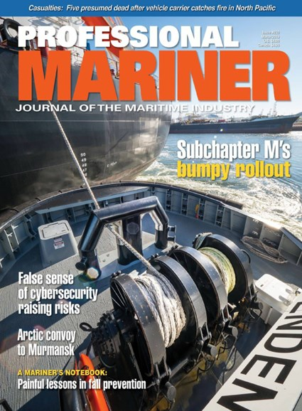 Professional Mariner Cover - 3/1/2019