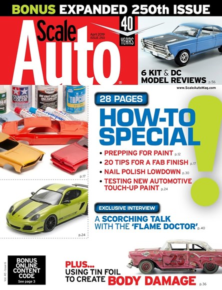 Scale Auto Magazine Cover - 4/1/2019