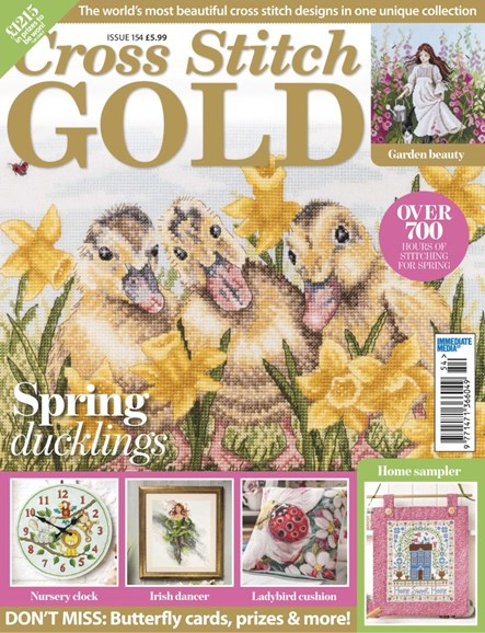 Cross Stitch Gold Cover - 3/1/2019