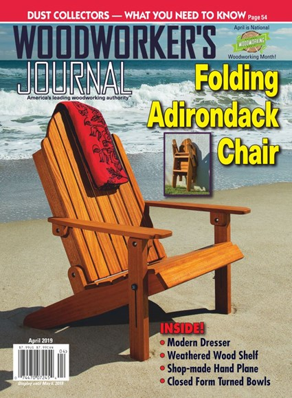 Woodworker's Journal Cover - 4/1/2019