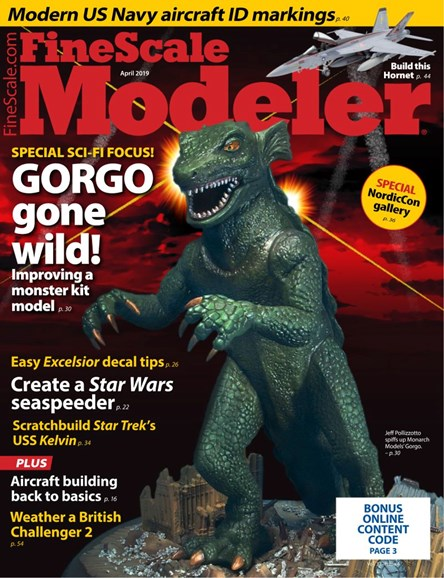Finescale Modeler Cover - 4/1/2019