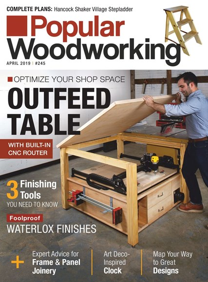 Popular Woodworking Cover - 4/1/2019