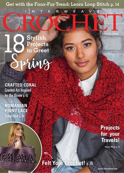 Interweave Crochet Cover - 3/1/2019