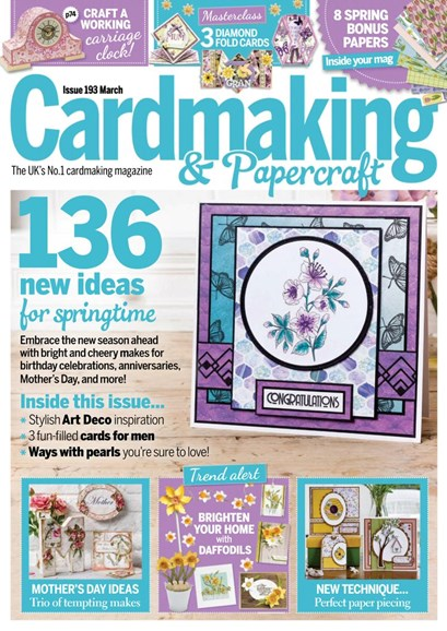 CardMaking & PaperCrafts Cover - 3/1/2019