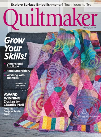 Quiltmaker Cover - 3/1/2019