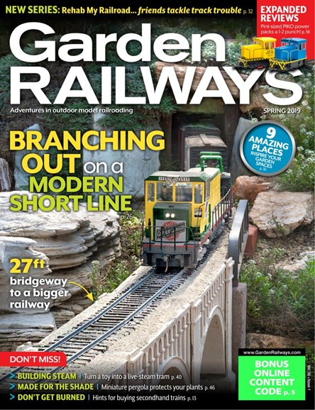 Garden Railways Cover - 2/1/2019