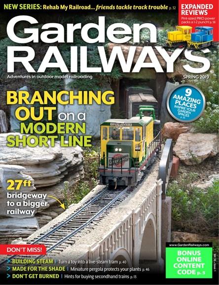 Garden Railways Cover - 2/1/2019