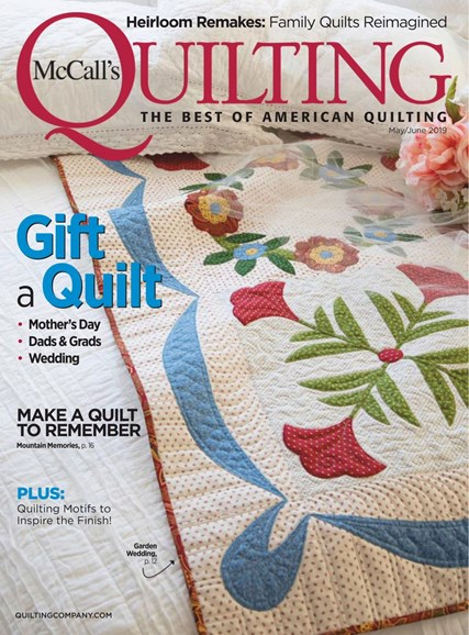 McCall's Quilting Cover - 5/1/2019