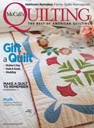 Mccall's Quilting Magazine 5/1/2019