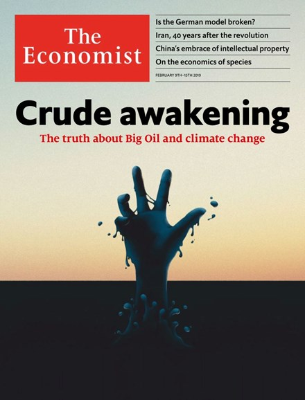 The Economist Cover - 2/9/2019