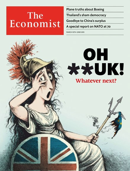 The Economist Cover - 3/16/2019