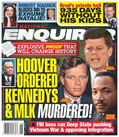 National Enquirer Cover - 2/11/2019