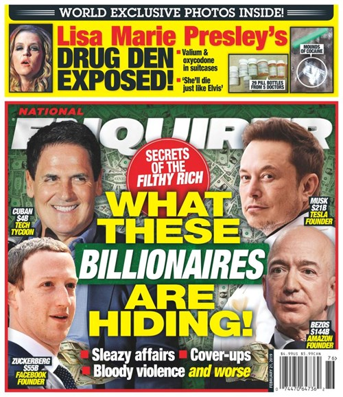 National Enquirer Cover - 2/21/2019
