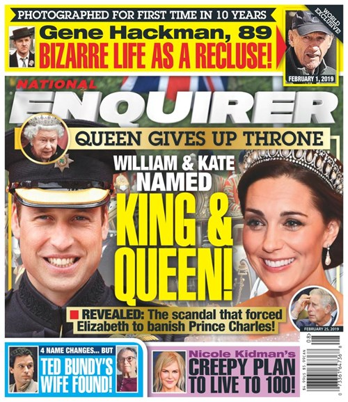 National Enquirer Cover - 2/25/2019