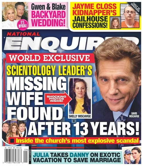 National Enquirer Cover - 3/4/2019