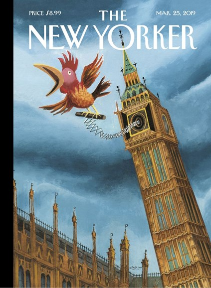 The New Yorker Cover - 3/25/2019