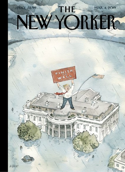 The New Yorker Cover - 3/4/2019